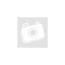 Üveg tekla gyöngy 8mm ezüst