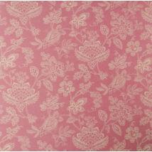 Egyoldalas scrapbook papír-Indák és virágok IV. krém