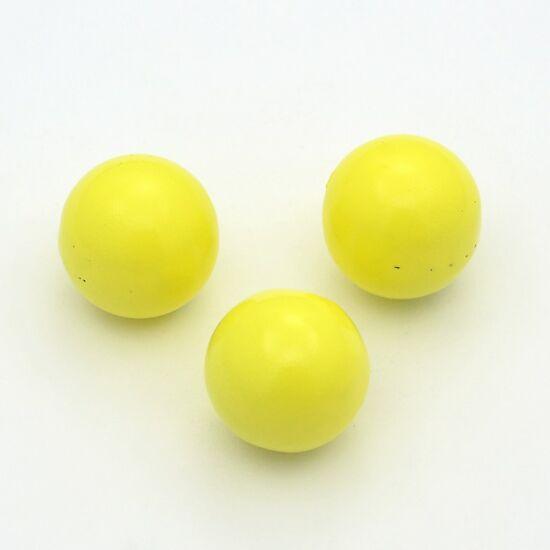 Angyalhívóba golyó csengő sárga 14mm