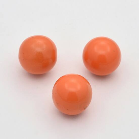 Angyalhívóba golyó csengő narancs 14mm