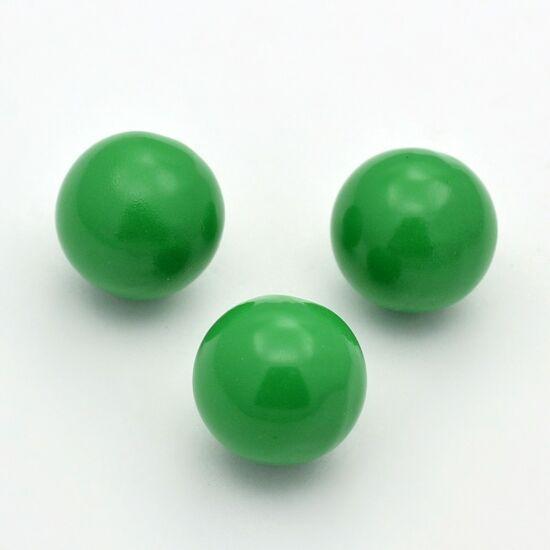 Angyalhívóba golyó csengő zöld 14mm