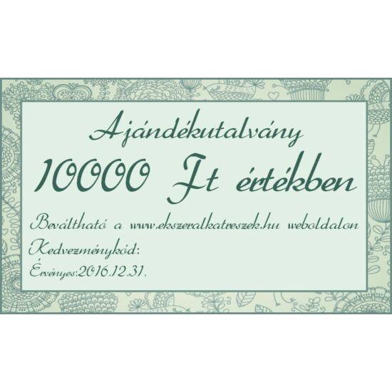 Ajándék utalvány 10000Ft