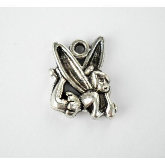 Repülő tündér charm ezüst