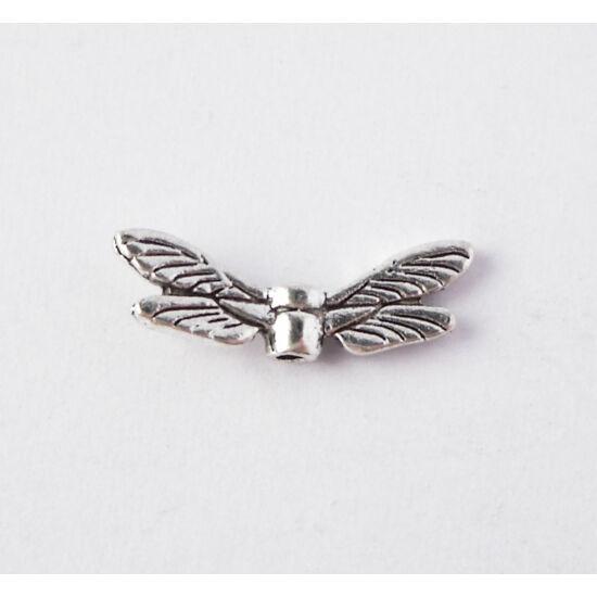 Szitakötős angyalszárny ezüst