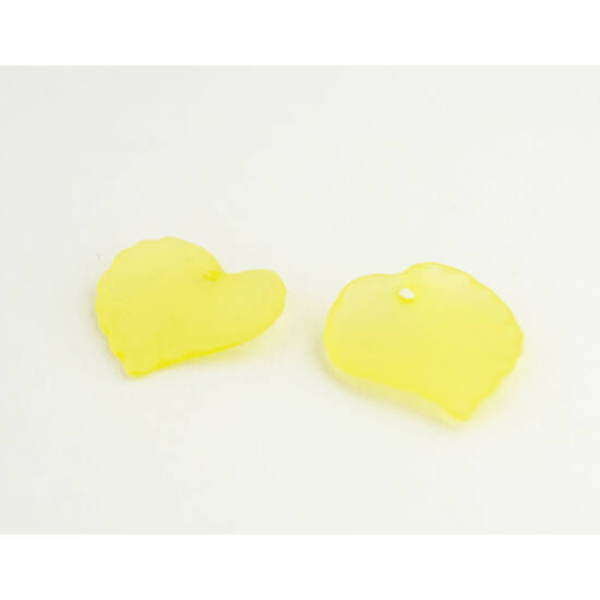 Akril levél sárga