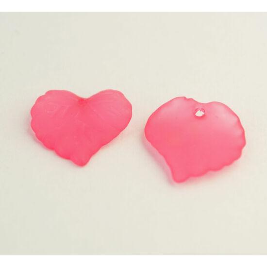 Akril levél pink