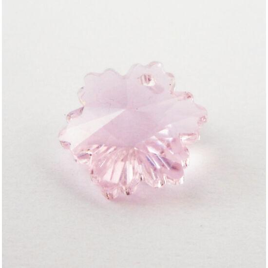 Hópehely gyöngy rózsaszín
