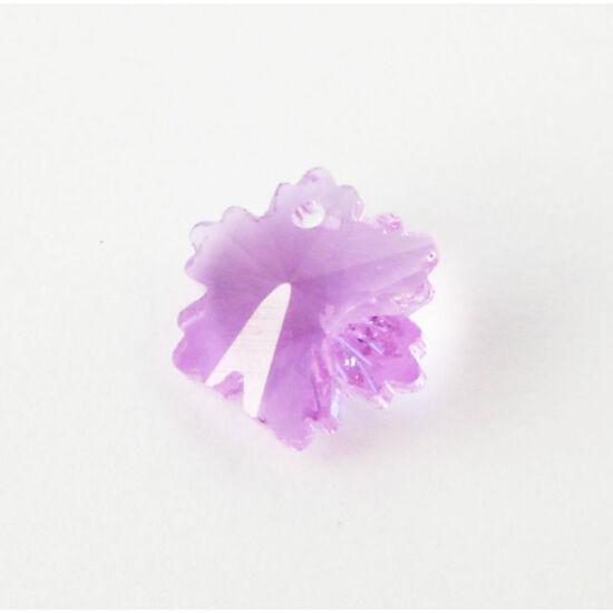 Hópehely gyöngy lila