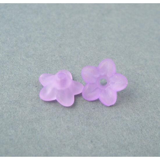 Akril petúnia virágkehely lila