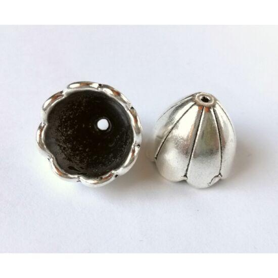Óriás kupola gyöngykupak ezüst