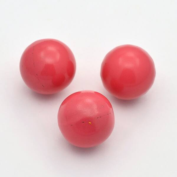 Angyalhívóba golyó csengő korall/pink 14mm