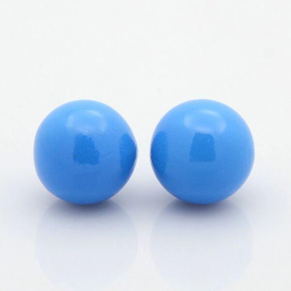 Angyalhívóba csengő golyó kék 18mm