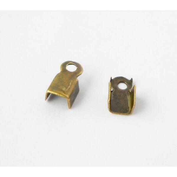 Végzáró bronz 6x3mm 20db