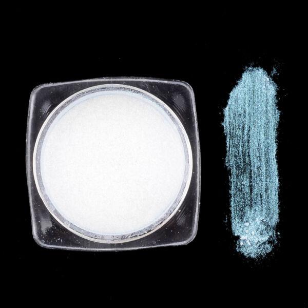 Cián metál effekt pigmentpor
