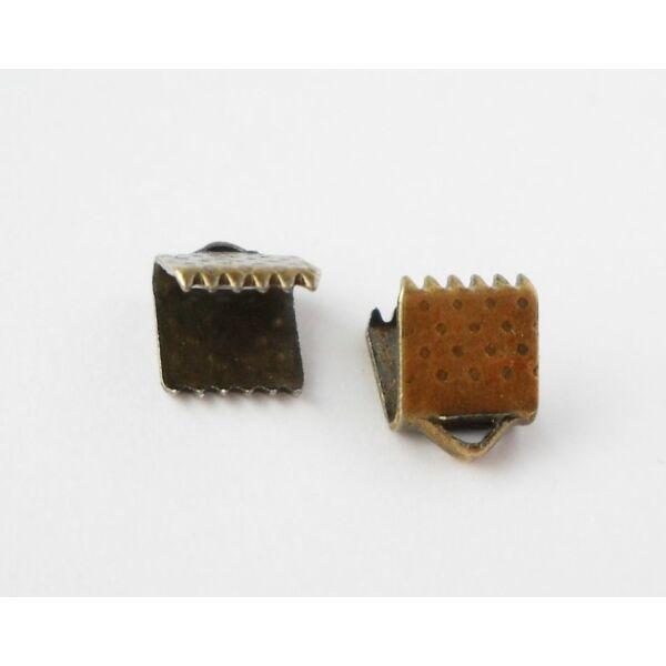 Szalagzáró 6mm bronz