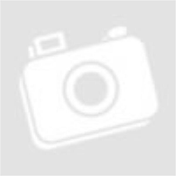 Apró kék virágos porcelán gyöngy 10mm 1db