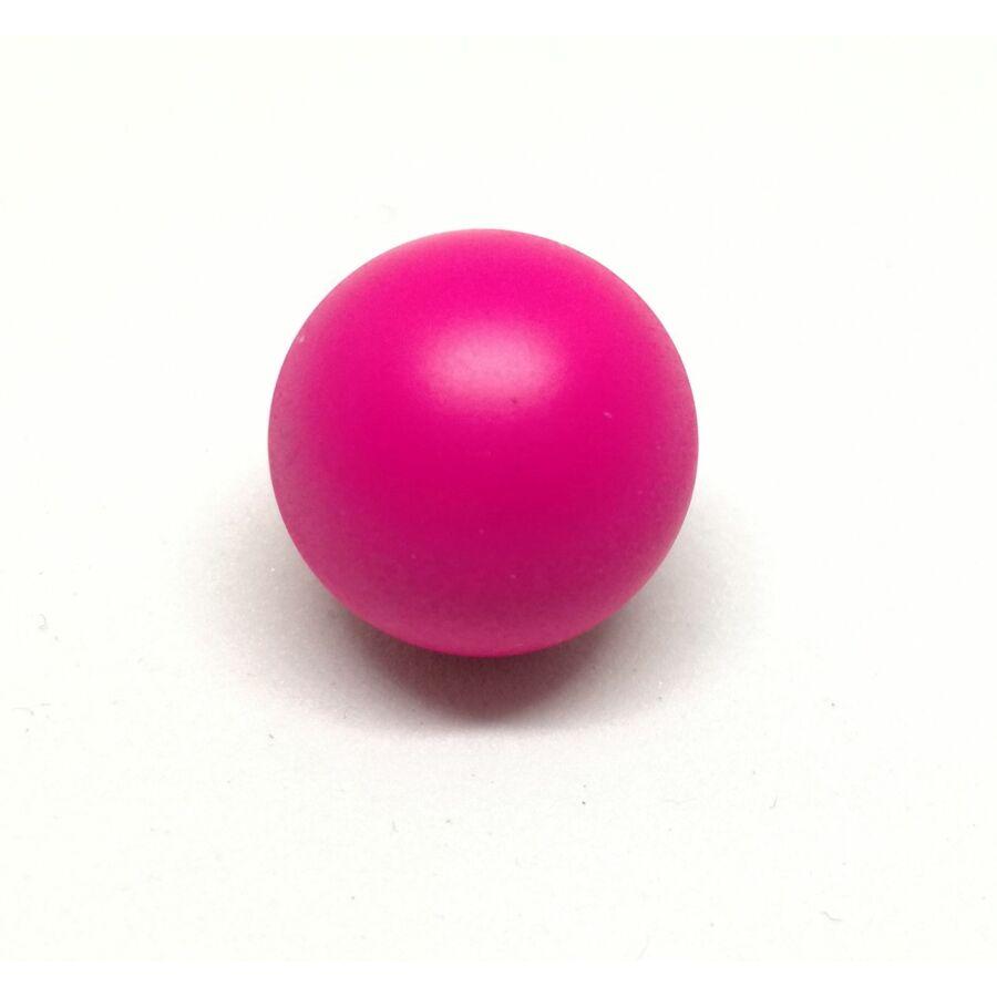 Angyalhívóba golyó csengő pink 14mm