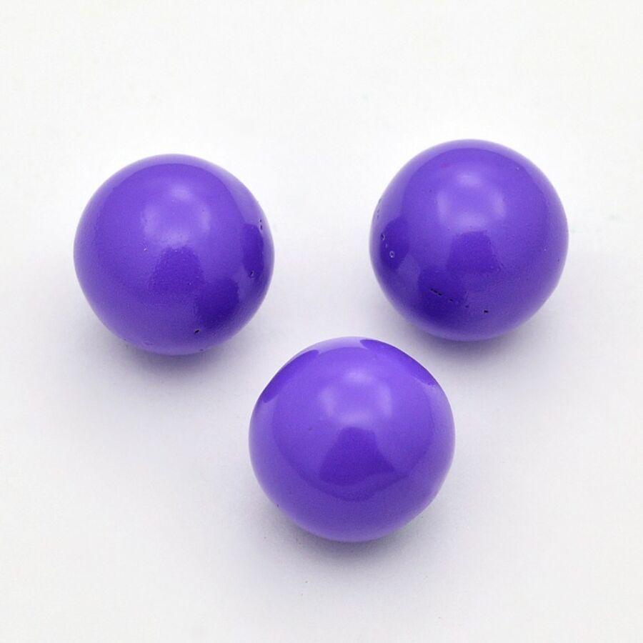 Angyalhívóba golyó csengő lila 14mm