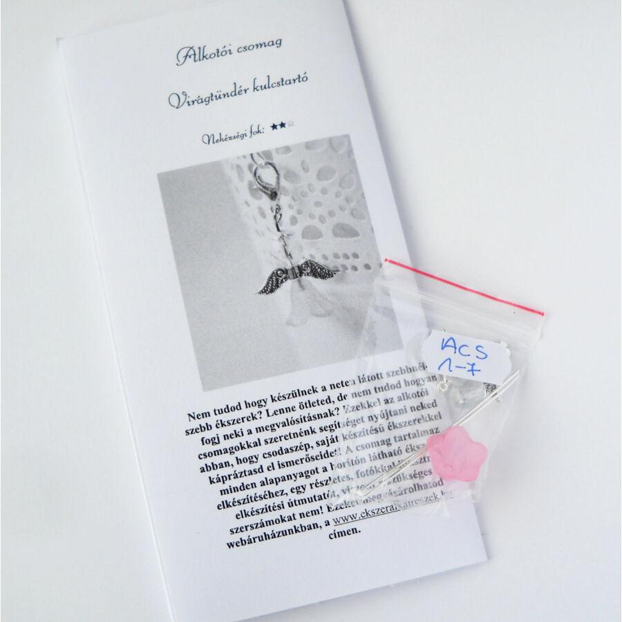 Alkotói csomag-Virágtündér kulcstartó