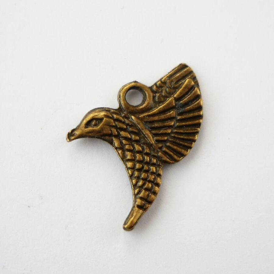 Kolibri charm bronz-Nikkelmentes!