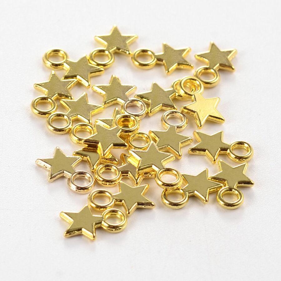 Arany csillag charm