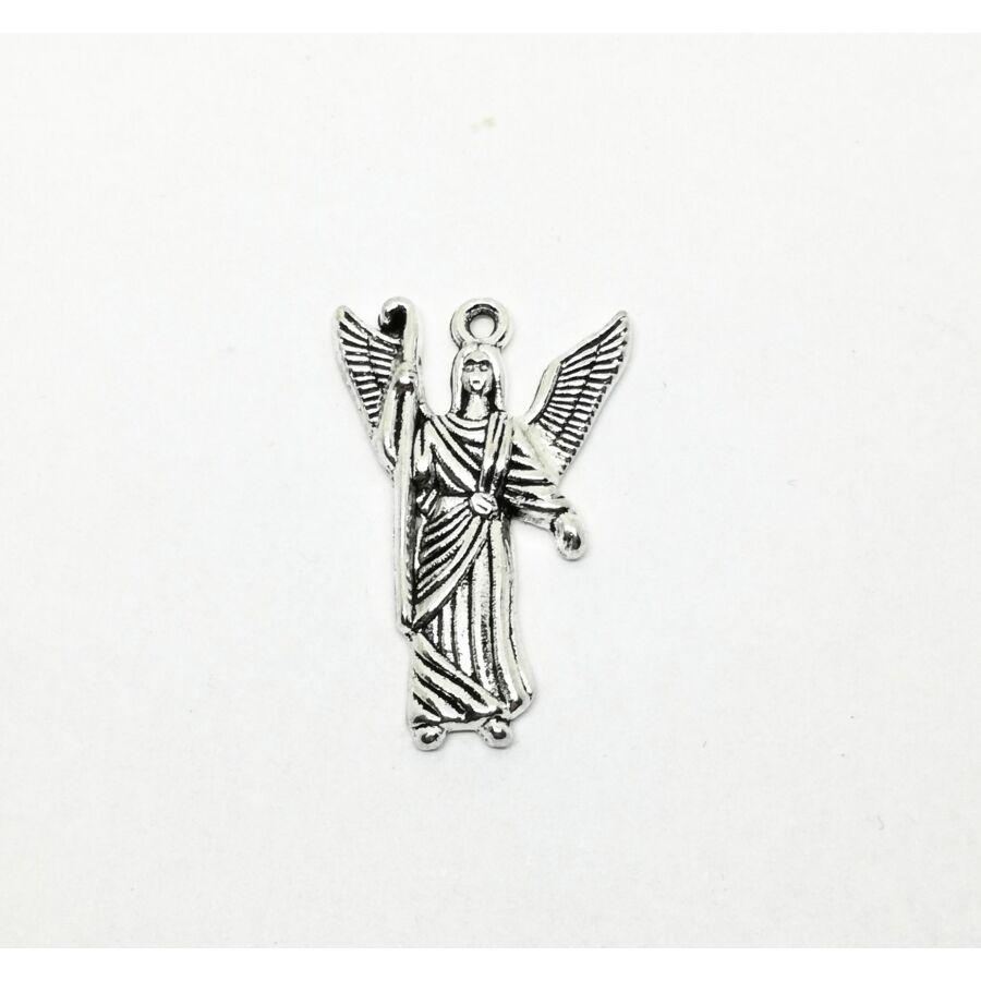 Angyal charm ezüst