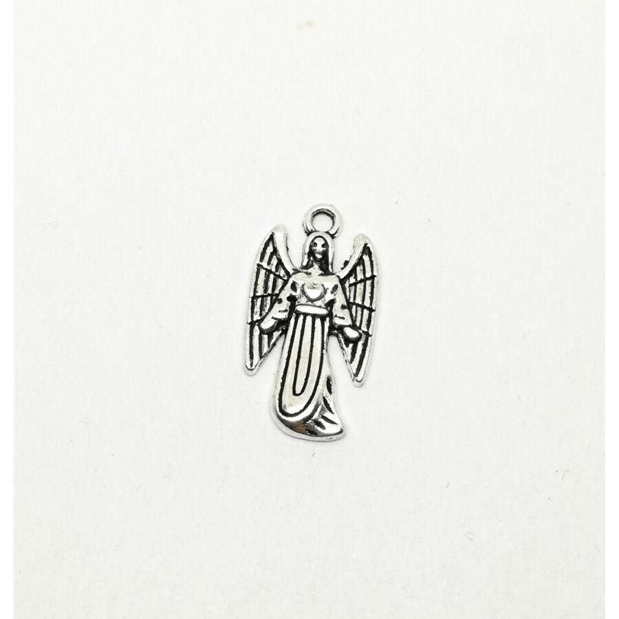 Védőangyal charm ezüst