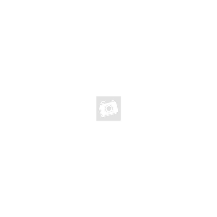 Metál csepp üveggyöngy 15x10mm kék