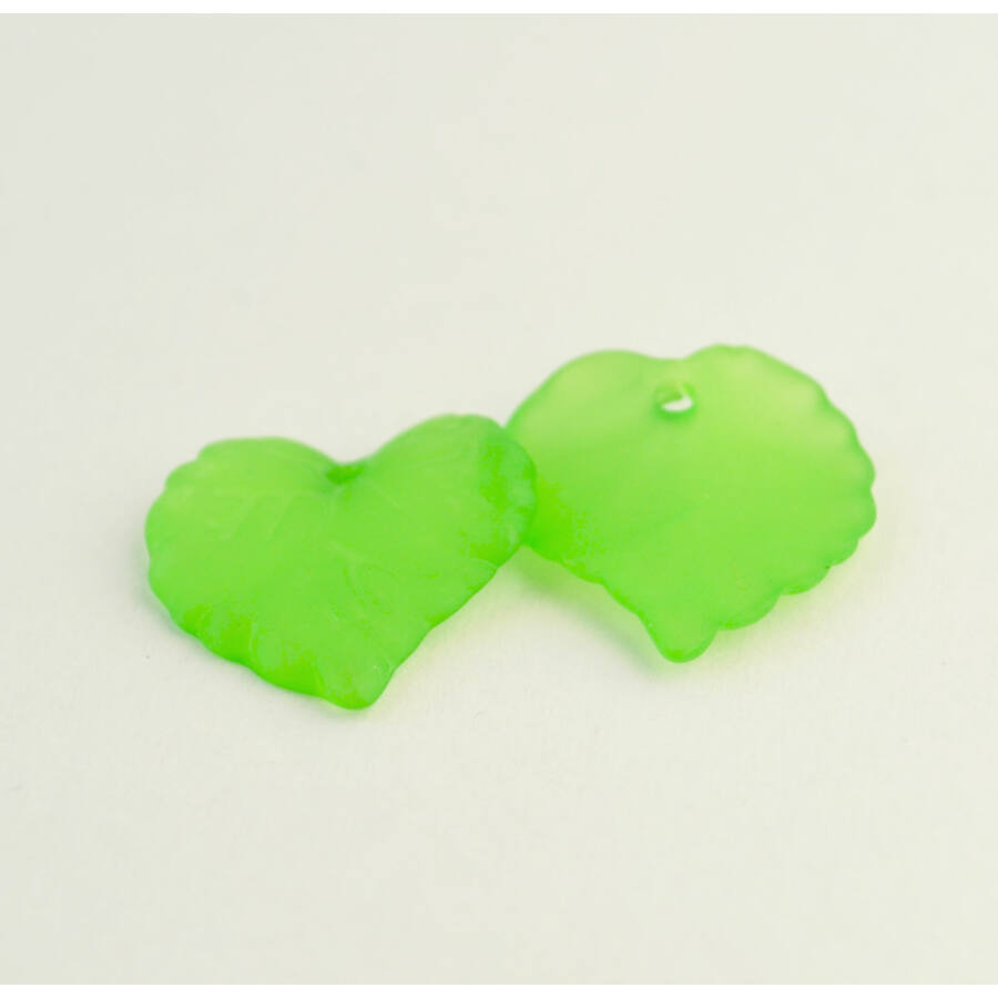 Akril levél zöld