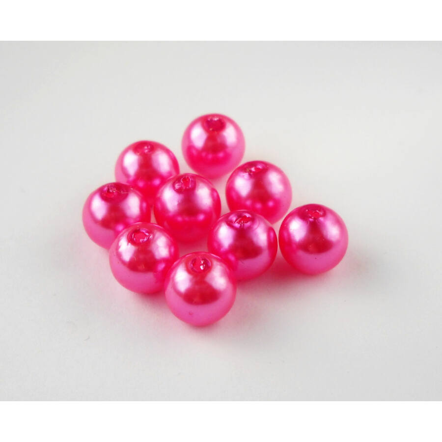 Viaszgyöngy 8mm pink