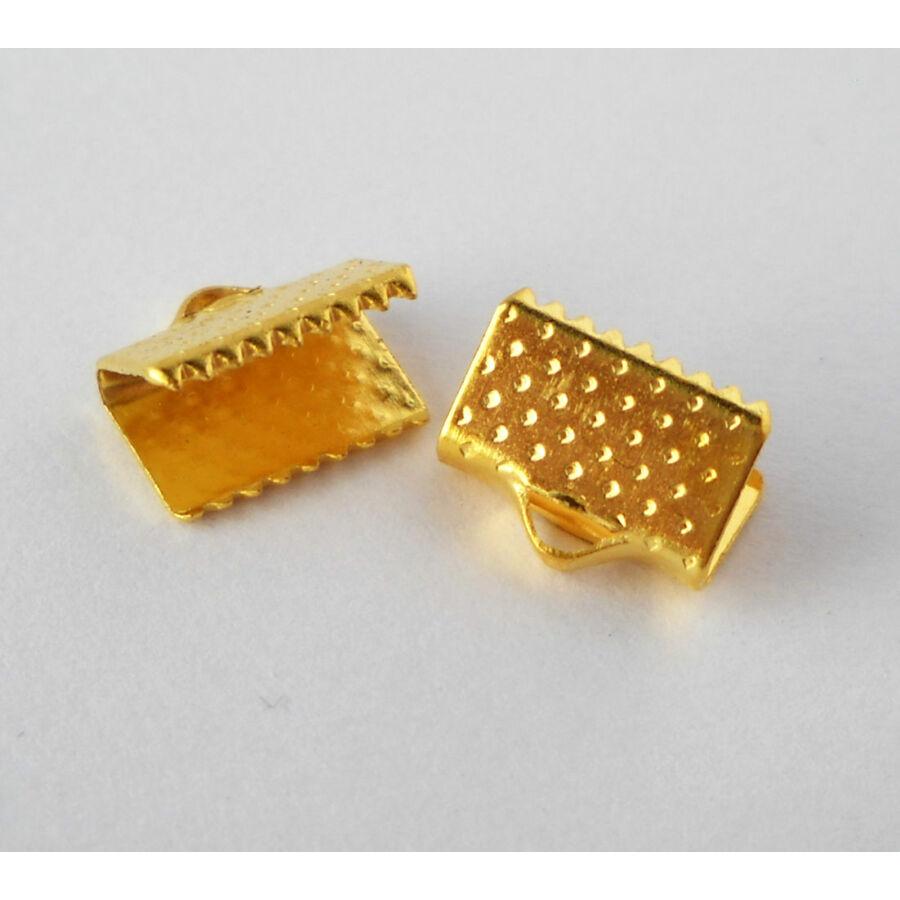 Szalagzáró 10mm arany